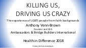 KILLING US, DRIVING US CRAZY