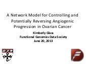 Kimberly Glass, Network model - Ovarian Cancer, fged_seattle_2013