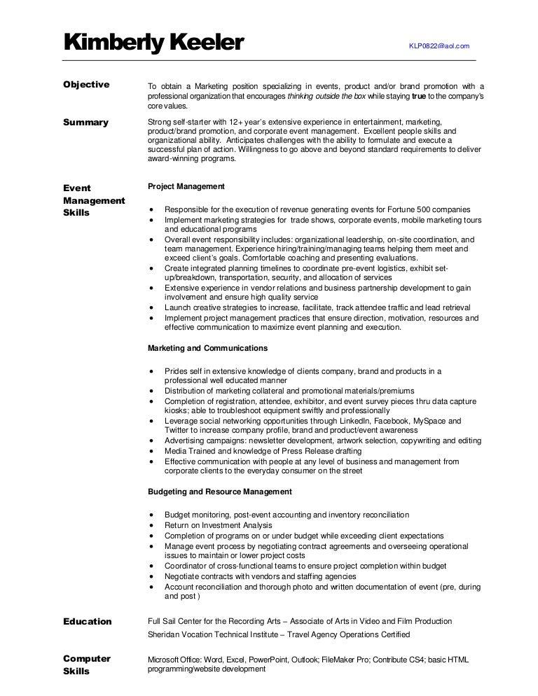 Liquor Promotion Resume Sample. wine sales representative sample ...