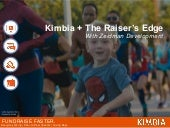 Kimbia + The Raiser's Edge Integration Demonstration