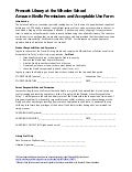 Kindle consent form