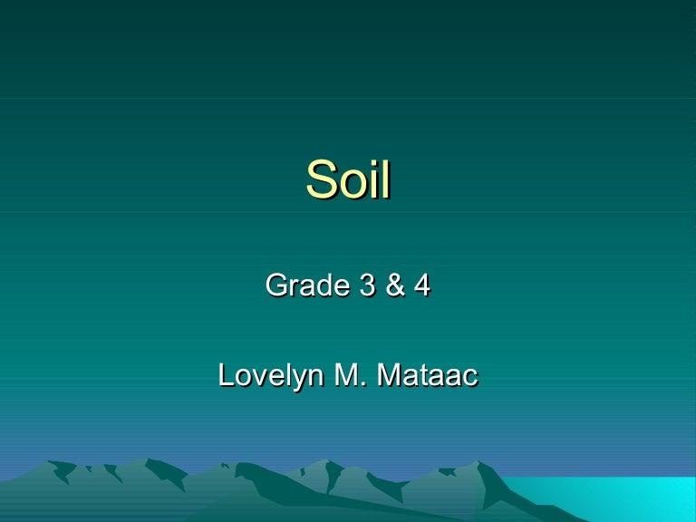 Kinds Of Soil
