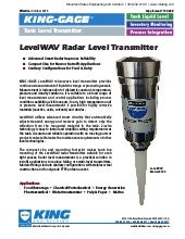 LevelWAV Radar Level Transmitter