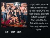 Kings cross sydney clubs - XXL The Club