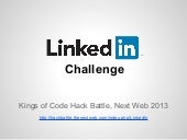 Kings of Code Hack Battle