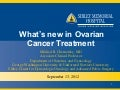 What's New in Ovarian Cancer Treatment