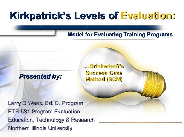 ATD     An Alternative to Kirkpatrick Evaluation   Strategic Human     Objectives et Benefits