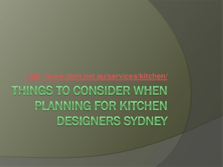 Kitchen Designers Jobs Sydney