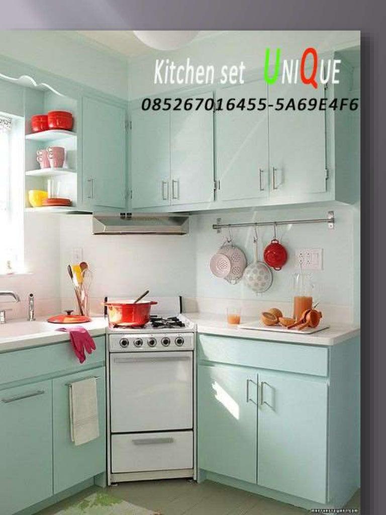 Kitchen Set Aluminium Minimalis Surabaya Kitchen Set Atas Minimalis