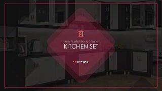 Jasa Pembuatan Kitchen Set Custom Terbaik ☎ 0813 5896 3216 (LehautDupanier.com)