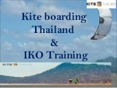 Kiteboarding in Thailand & IKO Training
