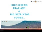 Kite Surfing Thailand & IKO Instructor Course