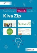Kiva Zip: People's Insights Volume 2, Issue 22