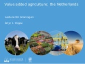 Dutch agriculture - an intro