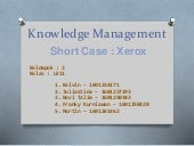 managing xeroxs multinational development center case analysis