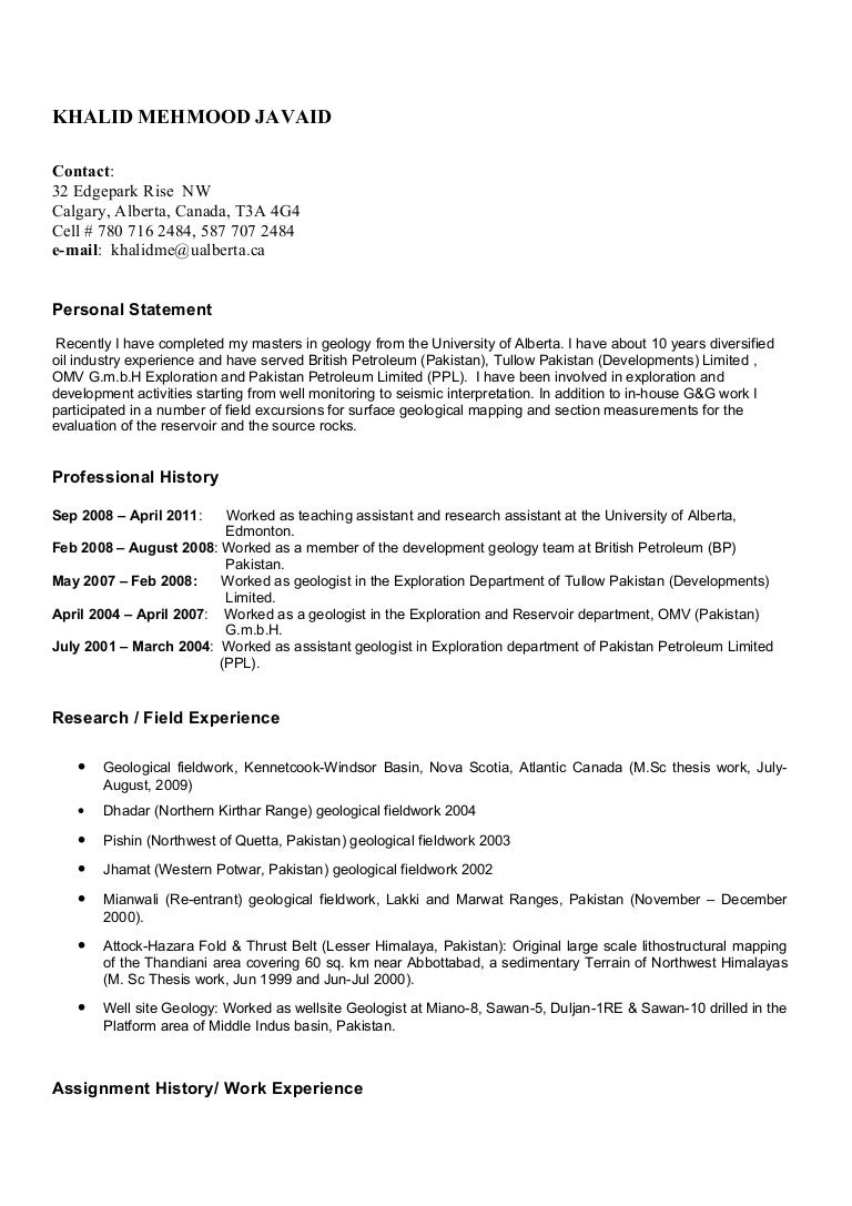 geology resume metallurgical engineer sample resume teacher cover - Geologist Cover Letter