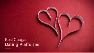 Best Cougar Dating Platforms