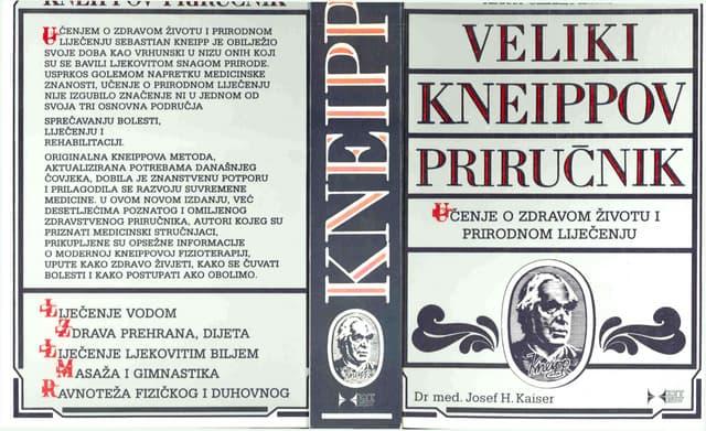 Kneipp   veliki priručnik (učenje o zdravom životu i prirodnom liječenju)