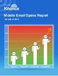 Mobile Email Opens Report