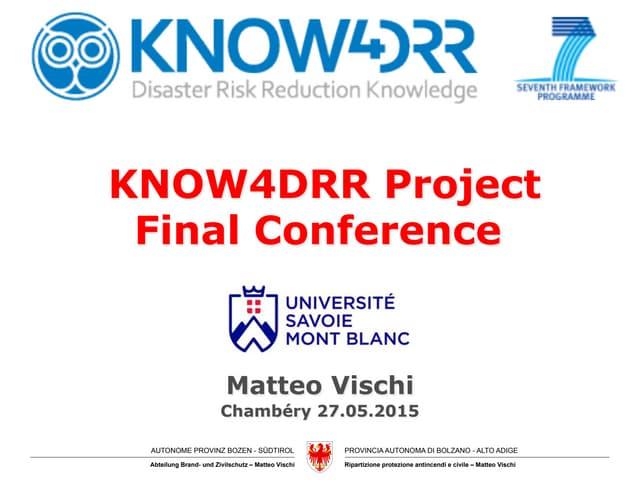 Know4DRR vischi