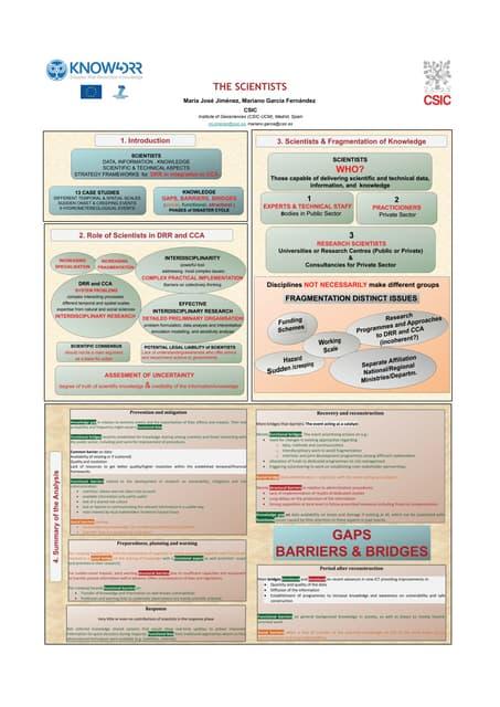 Know4 drr poster_ws_bolzano_scientists_csic