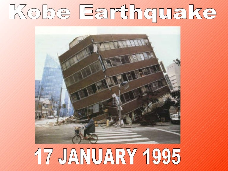 Image result for earthquake in kobe, japan