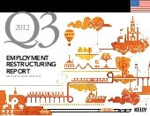 U.S Employment Restructuring Report Q3 2012