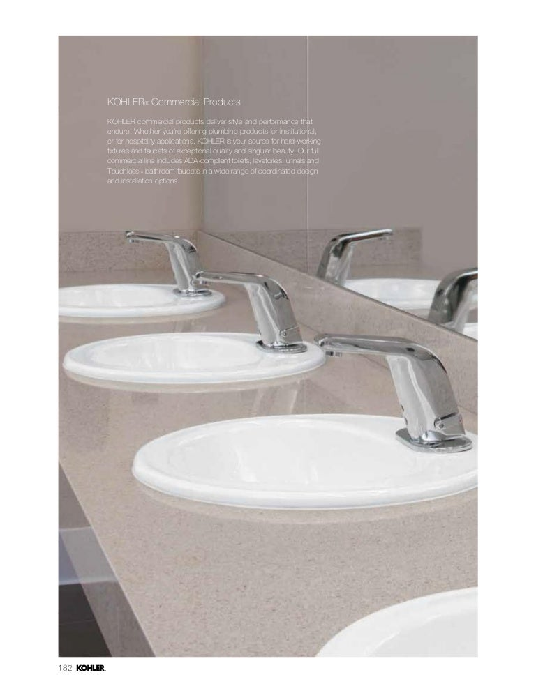 Kohler Commercial Range - Kohler commercial bathroom faucets