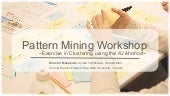 Pattern Mining Workshop (PURPLSOC2017)