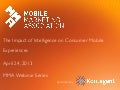 Kontagent - The Impact on Consumer Mobile Experiences