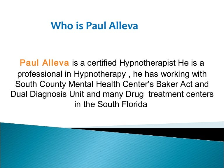 Who Is Paul Alleva Know More About Him