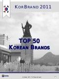KorBrand 2011 - TOP50 Korean Brands