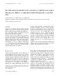Saccharomyces boulardii in the prevention of antibiotic-associated diarrhoea in children: a randomized double-blind placebo-controlled trial