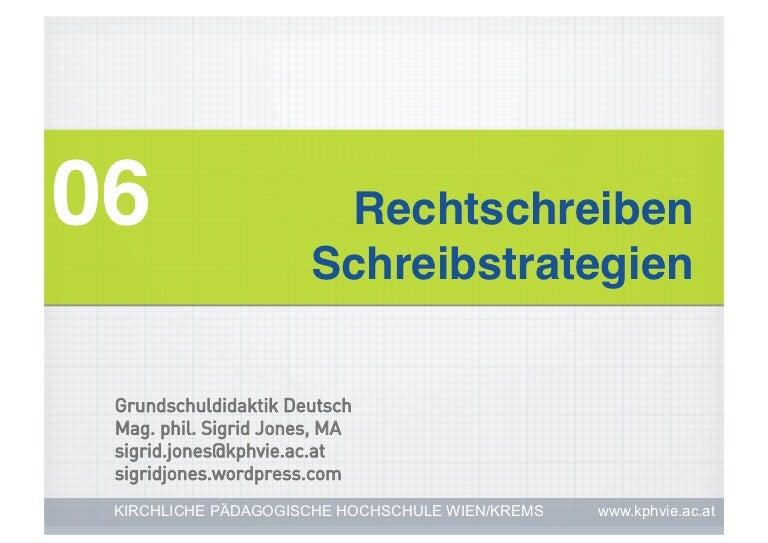 06 Rechtschreiben