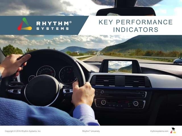 KPIs Rhythm University Slideshare