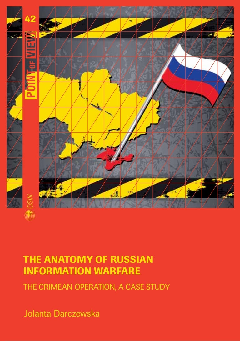 A full-scale information war is being waged against Russia