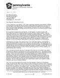 Krancer Letter Responding to US EPA - April 6, 2011