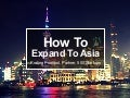 Krating Ponpool, Partner, 500 Startups – How to Expand into Asia
