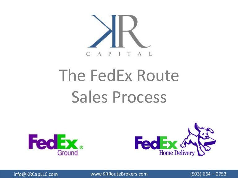 KR Capital FedEx Route Sales Process