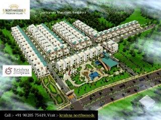 Krishna Northwoods Thanisandra Main Road Bangalore - Price, Review, Location, Brochure, Floor Plan, Rates