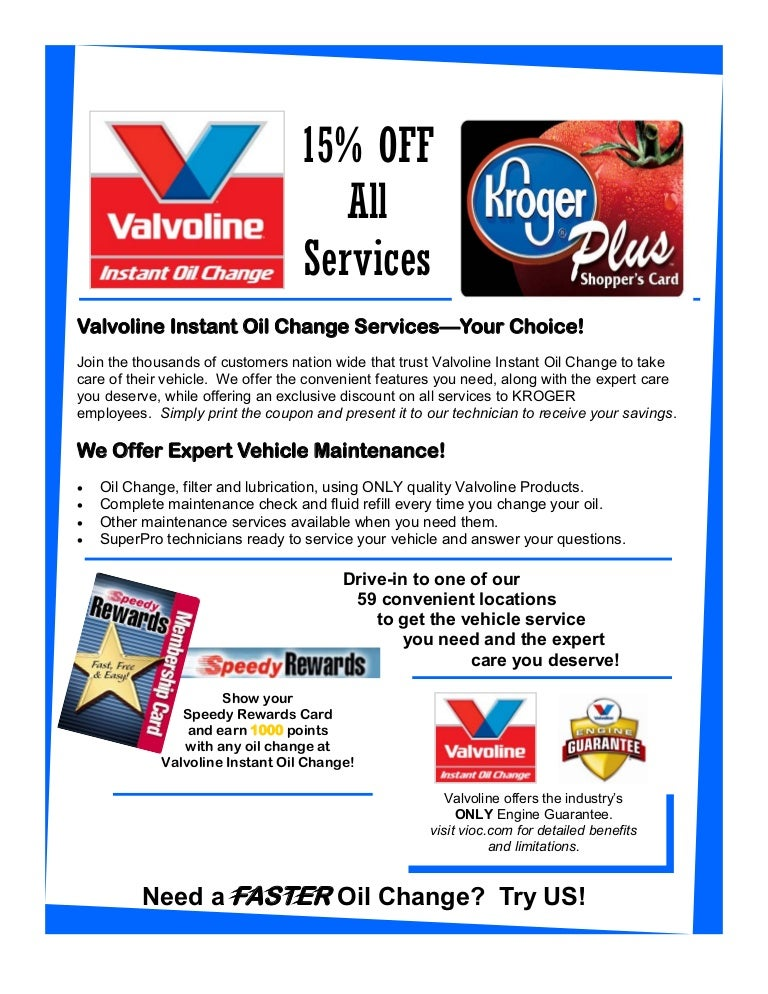 picture relating to Valvoline Instant Oil Change Coupon Printable referred to as Valvoline oil discount coupons : Free of charge oil difference coupon 2019