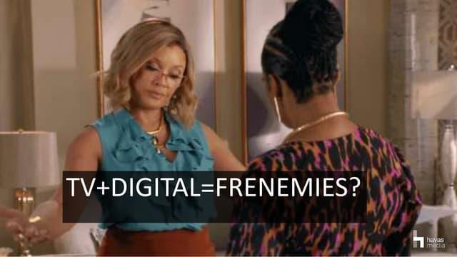 """TV + Digital = Frenemies?"". Мила Крутченко, ADV Group Ukraine"