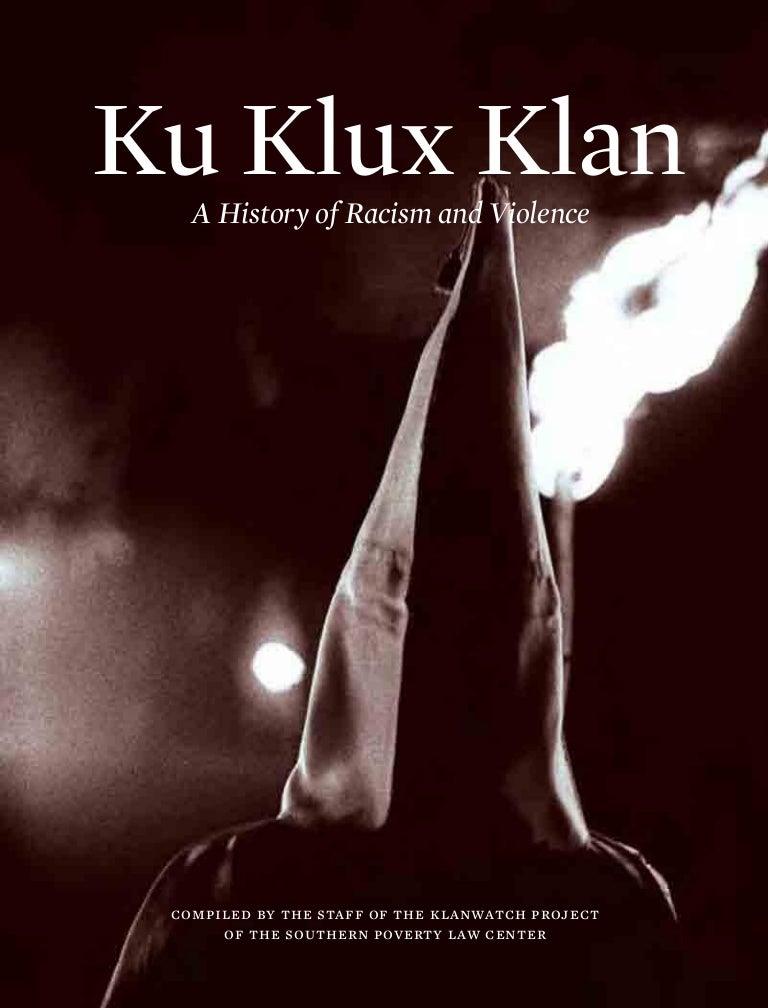 Kkk klan klux ku racism violence