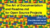 The Art of Documentation and Readme.md for Open Source Projects