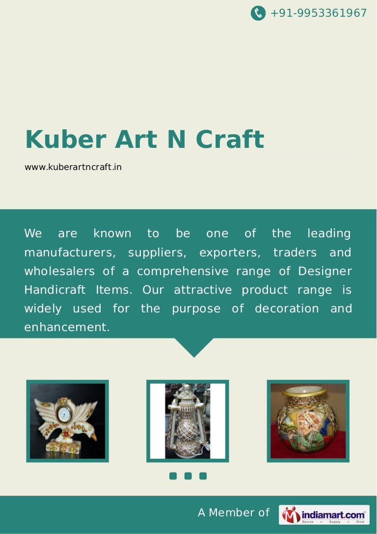 Kuber Art N Craft Jaipur Marble Clock