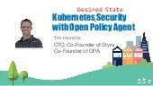 DCSF19 Kubernetes Security with OPA