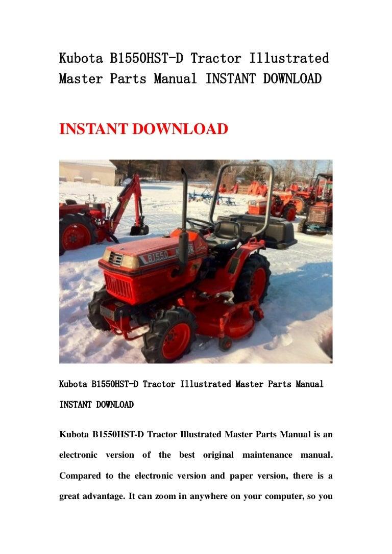 Kubota b1550 hst d tractor illustrated master parts manual instant on kubota b8200 wiring diagram, kubota b7500 wiring diagram, kubota b3030 wiring diagram, kubota b2400 wiring diagram, kubota b7800 wiring diagram,