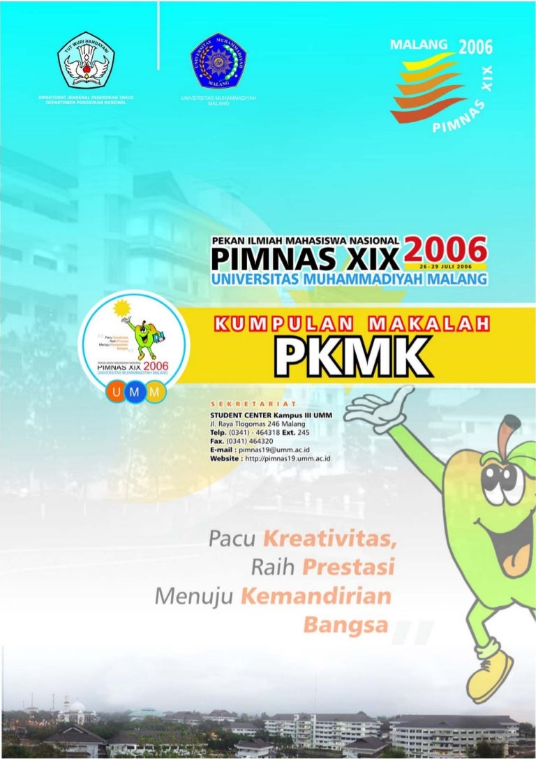 Kumpulan Makalah Pimnas 19 Pkm K