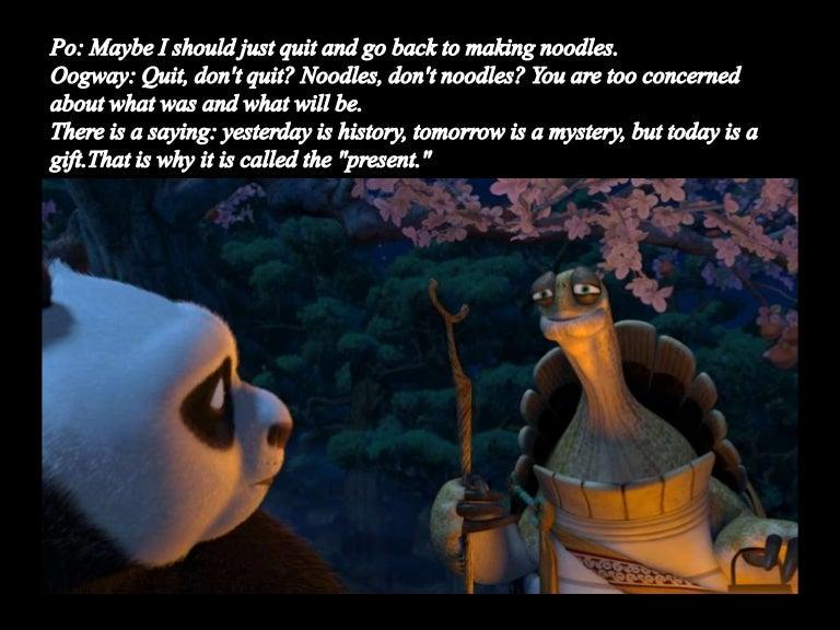 Kungfu panda philosoph...
