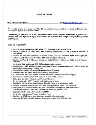 SAP Basis Consultant at IBM STechies